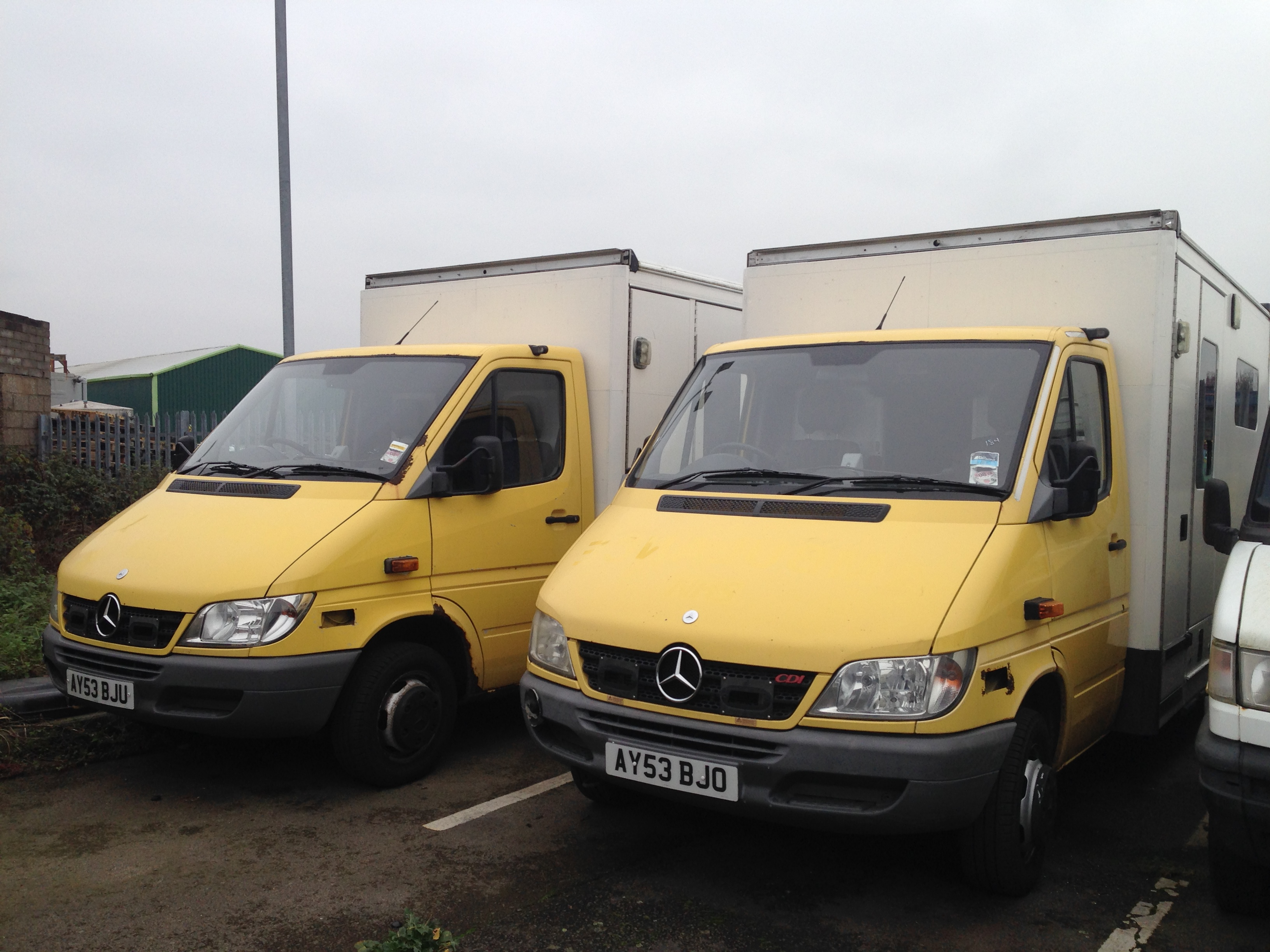 MERCEDES SPRINTER 416 AMBULANCE 2004